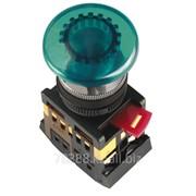 Кнопка AELA-22 (грибок зеленый неон) IEK (200) фото