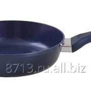 Сковорода глубокая с керамическим покрытием. Диаметр 240 мм, арт. сг240кис фото