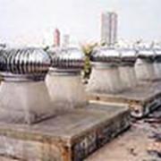 Вентиляционные турбины фото