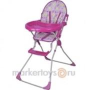 Стульчик для кормления 152 розовый /SELBY/ фото