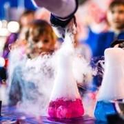 Химическое Шоу на детские праздники. фото