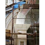 Монтаж архитектурных элементов фото