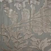 Вуаль с флоковой печатью артикул 205-1 фото