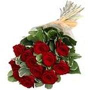 Доставка цветов и подарков. Букет из роз фото