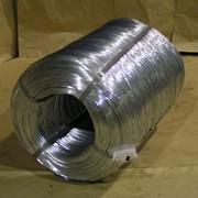 Проволока стальная оцинкованная в розеттах 2,4-4,0мм фото