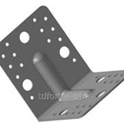 Кронштейн крепежный равносторонний с ребром жесткости Б41/4, арт. 2634 фото