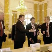 Содействие участникам выставок в организации пресс-конференций. фото