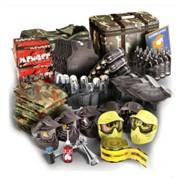Набор для клуба 10 оружие/маска/баллон, Tippmann98/ER V2.0 Single/азот-воздух фото