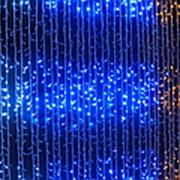 Светодиодная гирлянда занавес водопад 560 LED ламп 3х2 м для улицы и дома (Белый) фото