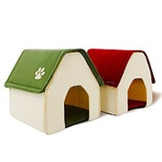 Домик для кошек и небольших собак (Зеленый) фото