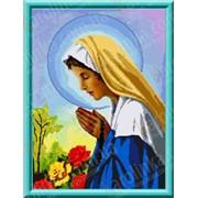 Рисунок-схема Божья Матерь Святого Розария КТК - 3070 фото