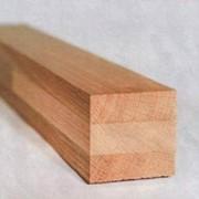 Сырье техническое из дуба. Брус дубовый фото