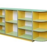 Купить стеллаж для игрушек 1860х360х900 мм, Код: 4513, Стеллажи для игрушек Украина фото