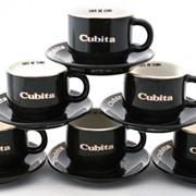 Чашка кофейная с блюдцем Cubita Espresso фото