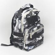 Рюкзак Babiators Rocket Pack 1,5-4 года, 30х20х14 камуфляж Galactic Gray Camo фото