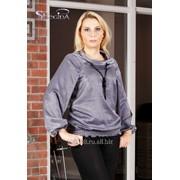 Блуза 4504 Серый цвет фото