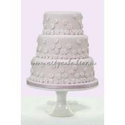 Торт cвадебный №0234 код товара: 1-0234 фото