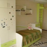 Детская комната салатовая фото