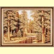 Картина из янтаря фото