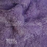 Ткань Махра (велсофт) сиреневый 3759 фото