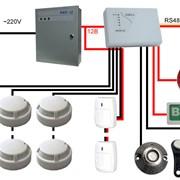 Монтаж оборудования по охранно-пожарной сигнализации, пожаротушения. фото