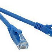 Патч-корд UTP, Cat.6, 0.5 м,синий Hyperline PC-LPM-UTP-RJ45-RJ45-C6-0.5M-BL