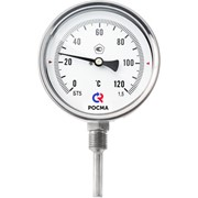 Коррозионностойкий термометр с радиальным присоединением