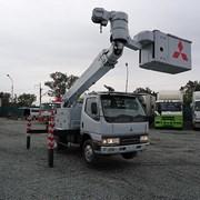 Аренда автовышки. 18 метров, телескоп.  фото