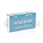 Линзы BIOMEDICS 55 UV (6 линз) фото
