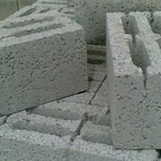 Керамзитобетонные блоки, шлакоблоки м50 75 100 фото