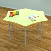 Столик детский шестигранный фото