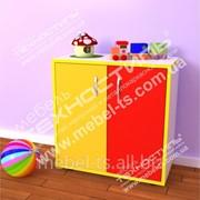 Шкаф детский закрытый М-61 ЦВЕТ фото