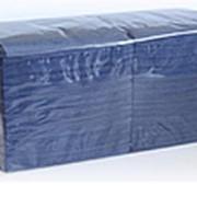 Салфетки сервировочные НРБ (синий) фото