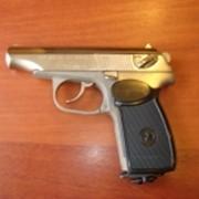 Пистолеты Пневматические МР-654 К 4,5 никель в кейсе фото