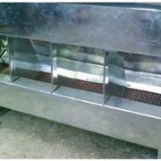 Комбикормушка бункерная с пылеулавливателем для кроликов фото