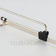 Штанга выдвижная L=350мм Firmax cталь никель фото