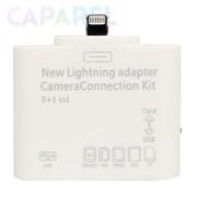 Camera Connection Kit 3 в 1 для Apple iPad 4/iPad mini фото