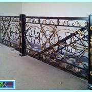 Стильные кованые лестничные ограждения от ЗДК  фото