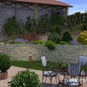 Дизайн сада в Украине, недорого и есть фото готовых работ фото