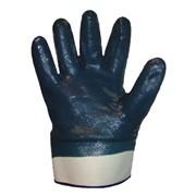 Перчатки нитриловый облив фото