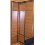 Изготовление дверей для шкаф-купе фото