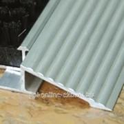 Профиль для грязезашиты ПГ 02 1350 серебро высота 15 мм фото