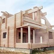 Сборка деревянных констркукций фото