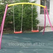 Качели Модель Л04-С Качели, детские уличные комплексы фото