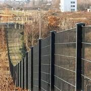 3Д забор 1730x2500x4 мм.Цинк + Пор. окр. фото