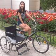 Прогулочная коляска для инвалидов и персионерпов фото