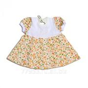 Платье детское 3858-к кулирная гладь, размер 52-92 фото