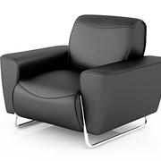 Черное кресло фото