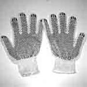 Перчатки х/б с ПВХ 4-х нитка Точка фото