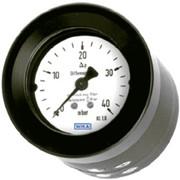 Манометр дифференциального давления, НР 80 мм фото